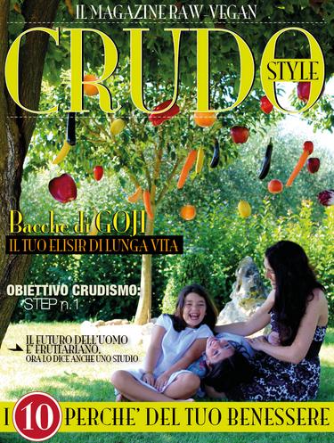 Il primo numero della rivista Crudo Style