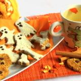 Biscotti e infuso arancia e cannella
