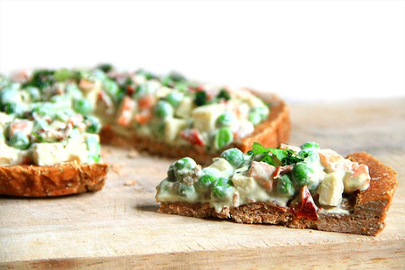Torta salata crudista