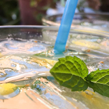 Un bicchiere di Mojito analcolico